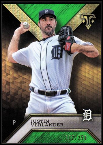 Photo of 2016 Topps Triple Threads Emerald #12 Justin Verlander