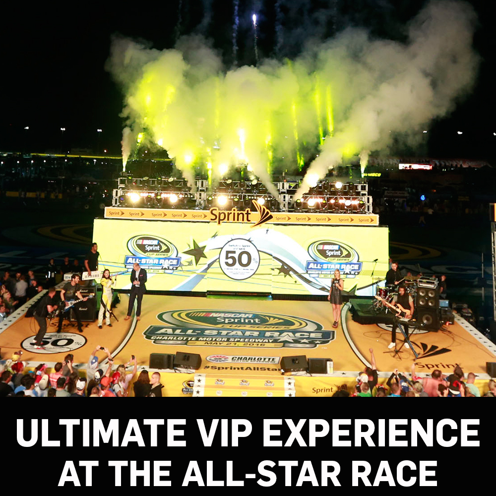 Ultimate VIP Experience at for the All-Star Race!