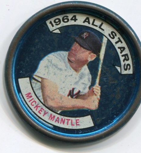 Photo of 1964 Topps Coins #131B Mickey Mantle AS Left Handed