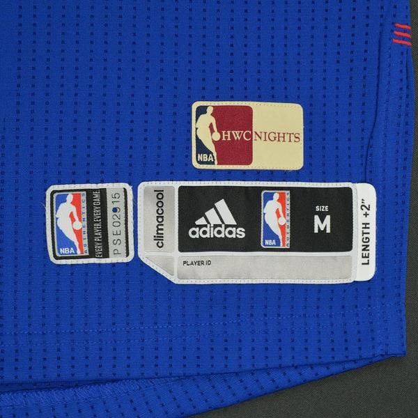 ab24d90d4bd ... Sergio Rodriguez - Philadelphia 76ers - Game-Worn Royal Blue ...
