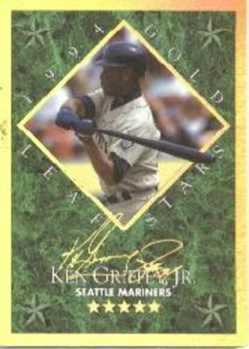 Photo of 1994 Leaf Gold Stars #4 Ken Griffey Jr. 5285/10000