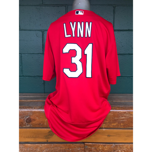 Photo of Cardinals Authentics: Lance Lynn Issued Batting Practice Jersey