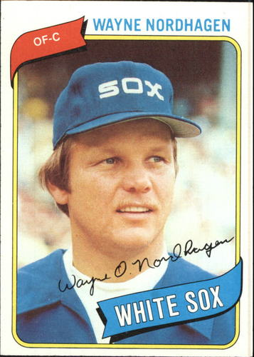 Photo of 1980 Topps #487 Wayne Nordhagen