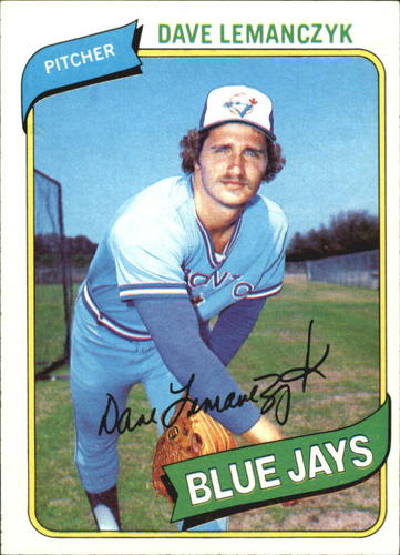 Photo of 1980 Topps #124 Dave Lemanczyk