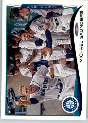 Photo of 2014 Topps #224 Michael Saunders