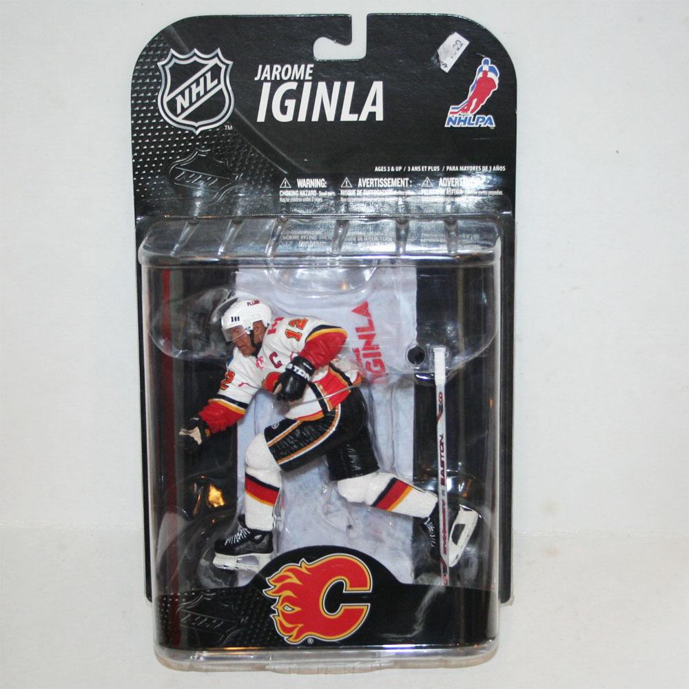 Jarome Iginla Calgary Flames Rare Chase McFarlane Figurine