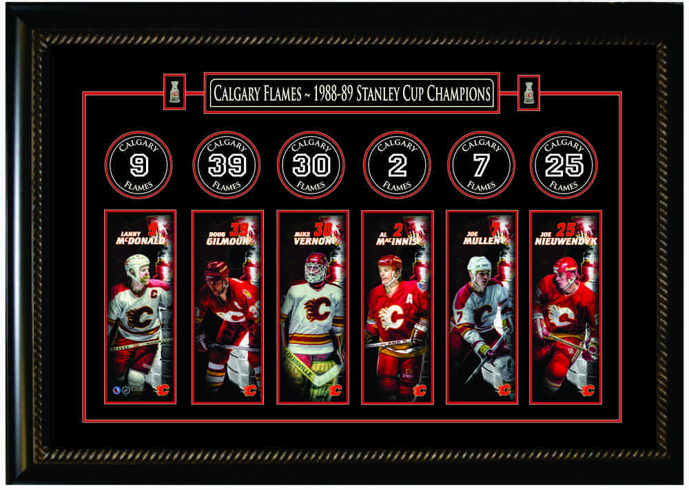 Calgary Flames Banner Frame