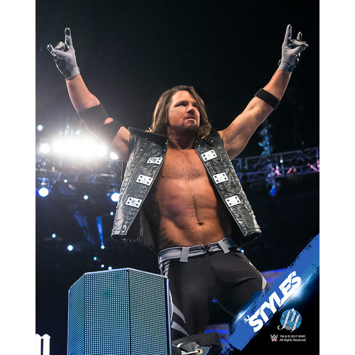 AJ Styles PERSONALIZED 8x10 Photograph