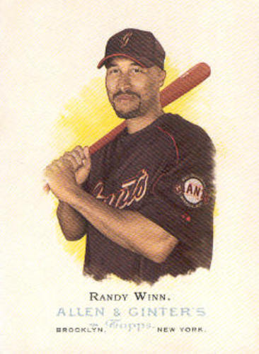 Photo of 2006 Topps Allen and Ginter #133 Randy Winn