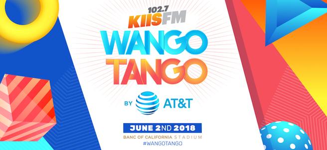 KIIS FM'S WANGO TANGO CONCERT & MEET A PERFORMING ARTIST OR HOST - PACKAGE 2 of 3