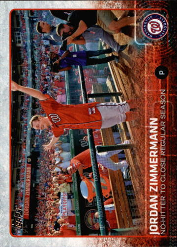 Photo of 2015 Topps #398 Jordan Zimmermann HL