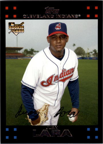 Photo of 2007 Topps #635 Juan Lara RC
