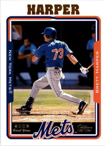 Photo of 2005 Topps #311 Brett Harper FY RC