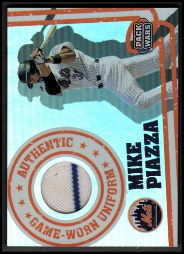 Photo of 2005 Topps Pack Wars Relics #MP Mike Piazza Uni A