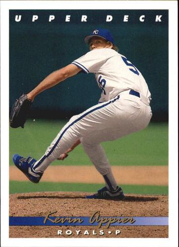 Photo of 1993 Upper Deck Gold Hologram #89 Kevin Appier