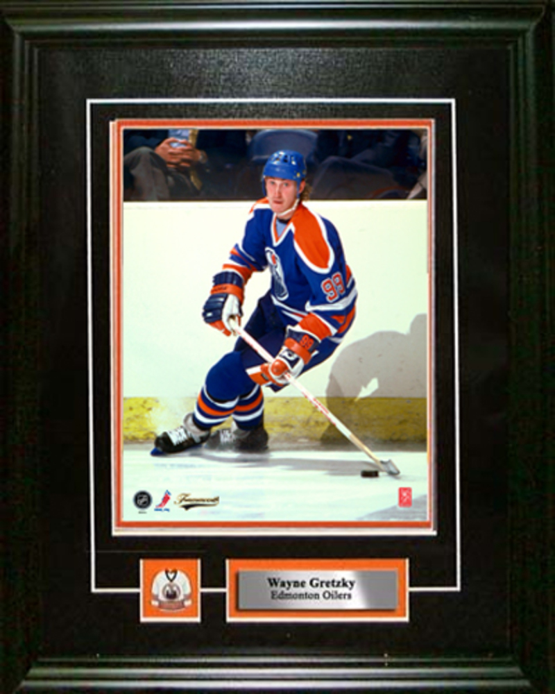 Wayne Gretzky - Framed 8x10