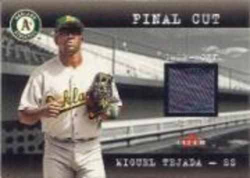 Photo of 2001 Fleer Genuine Final Cut #23 Miguel Tejada SP/170