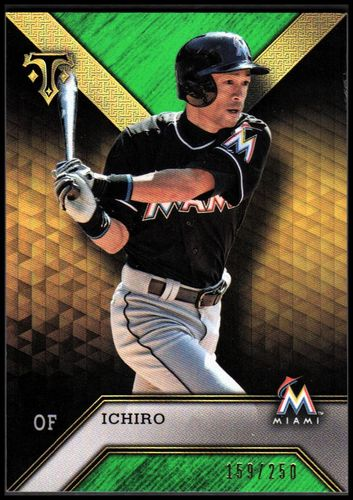 Photo of 2016 Topps Triple Threads Emerald #29 Ichiro Suzuki