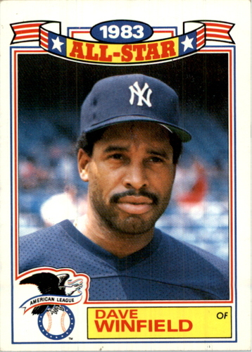 Photo of 1984 Topps Glossy All-Stars #8 Dave Winfield