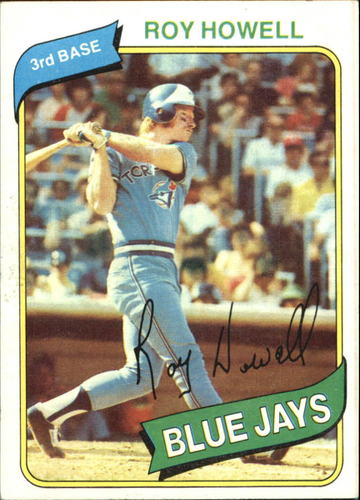 Photo of 1980 Topps #488 Roy Howell