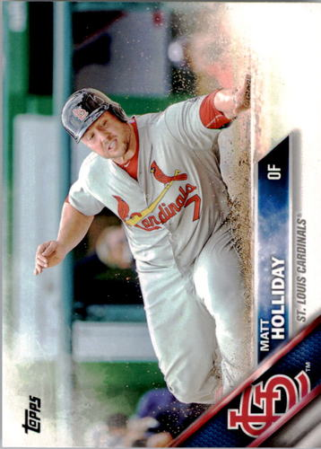 Photo of 2016 Topps #254 Matt Holliday