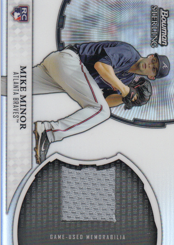 Photo of 2011 Bowman Sterling Rookie Relics #MMI Mike Minor