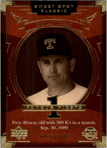 Photo of 2004 Sweet Spot Classic #135 Nolan Ryan FF/1989