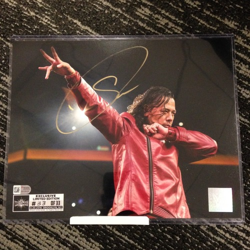 Photo of Shinsuke Nakamura SIGNED 8 x 10 Limited Edition WrestleMania 33 Photo (#33 of 33)