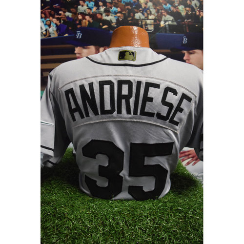 Photo of 2017 Memorial Day Game-Used Jersey: Matt Andriese