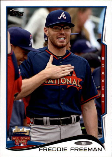 Photo of 2014 Topps Update #US264 Freddie Freeman