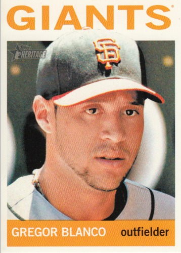 Photo of 2013 Topps Heritage #204 Gregor Blanco