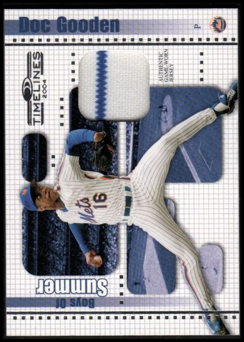 Photo of 2004 Donruss Timelines Boys of Summer Material #11 Doc Gooden Jsy