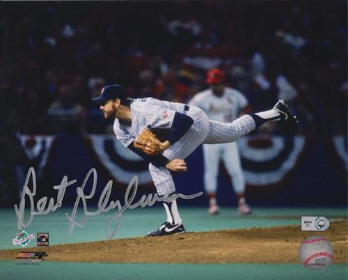 Photo of Bert Blyleven Autographed 8x10