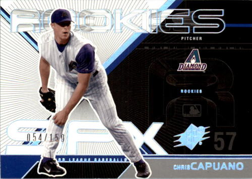 Photo of 2003 SPx #180 Chris Capuano ROO RC