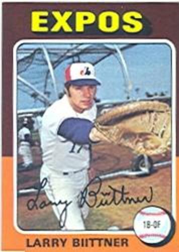 Photo of 1975 Topps #543 Larry Biittner