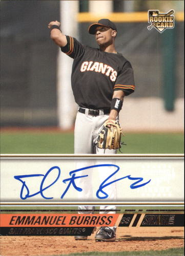 Photo of 2008 Stadium Club #151 Emmanuel Burriss AUTO RC EXCH A