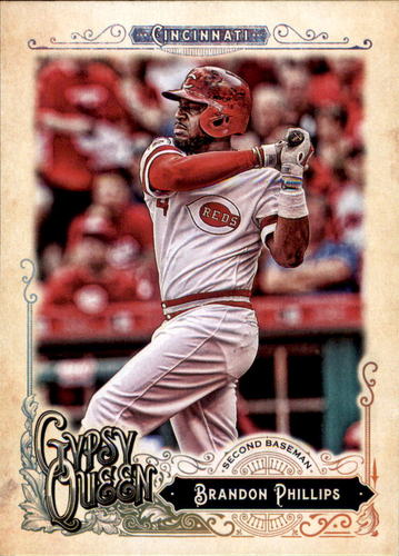 Photo of 2017 Topps Gypsy Queen #31 Brandon Phillips