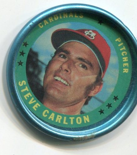 Photo of 1971 Topps Coins #115 Steve Carlton