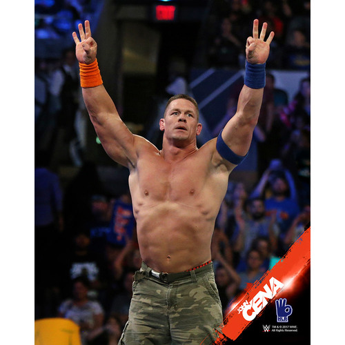 Photo of John Cena PERSONALIZED 8x10 Photograph