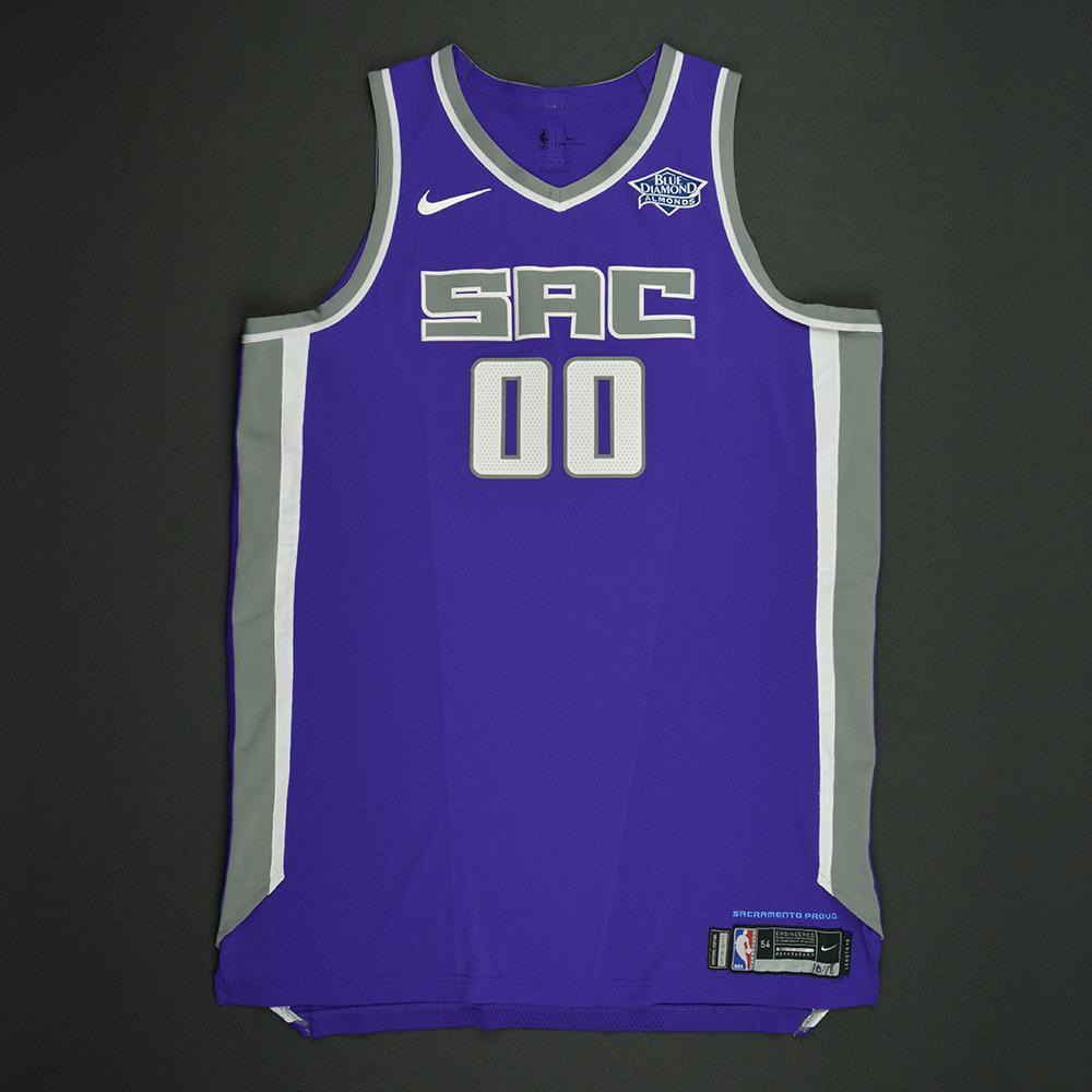 Willie Cauley-Stein - Sacramento Kings - Kia NBA Tip-Off 2017 - Game-Worn Jersey - Double-Double