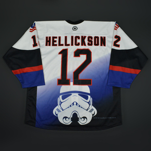 Matthew Hellickson - 2016 U.S. National Under-18 Development Team - Star Wars Night Game-Worn Jersey