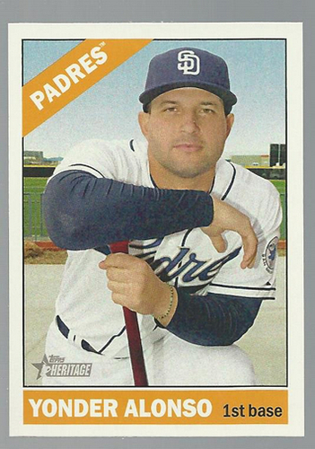 Photo of 2015 Topps Heritage #228 Yonder Alonso