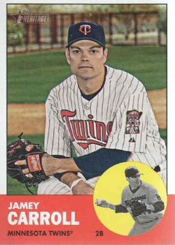Photo of 2012 Topps Heritage #80 Jamey Carroll