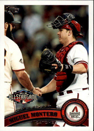 Photo of 2011 Topps Update #US273 Miguel Montero