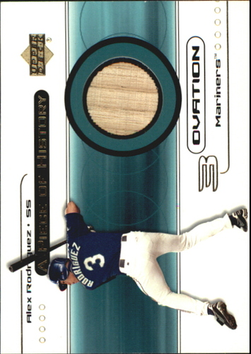 Photo of 2000 Upper Deck Ovation A Piece of History #AR Alex Rodriguez/400*