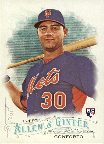 Photo of 2016 Topps Allen and Ginter #98 Michael Conforto RC