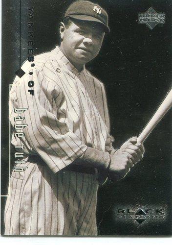 Photo of 1999 Black Diamond #90 Babe Ruth -- New York Yankees