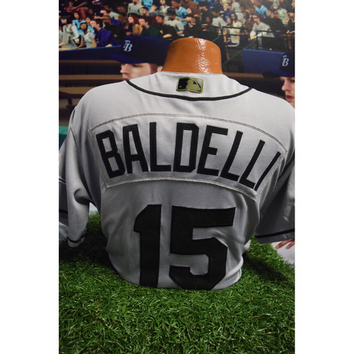 Photo of 2017 Memorial Day Game-Used Jersey: Rocco Baldelli