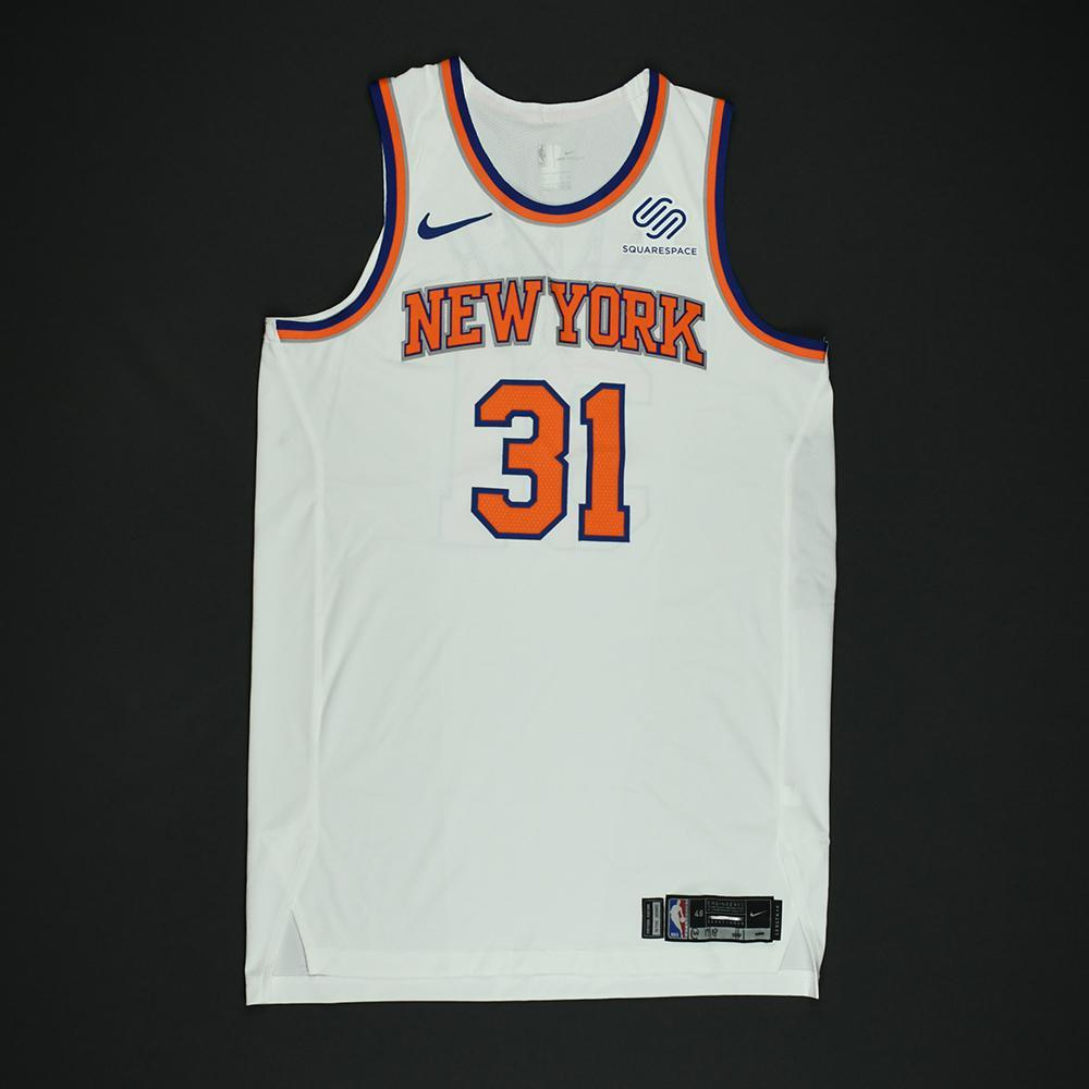 Ron Baker - New York Knicks - NBA Christmas Day '17 Game-Worn Jersey