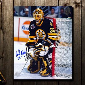 Andy Moog Boston Bruins Autographed 8x10